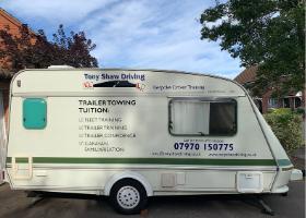 Caravan famililarisation by Tony Shaw Driving