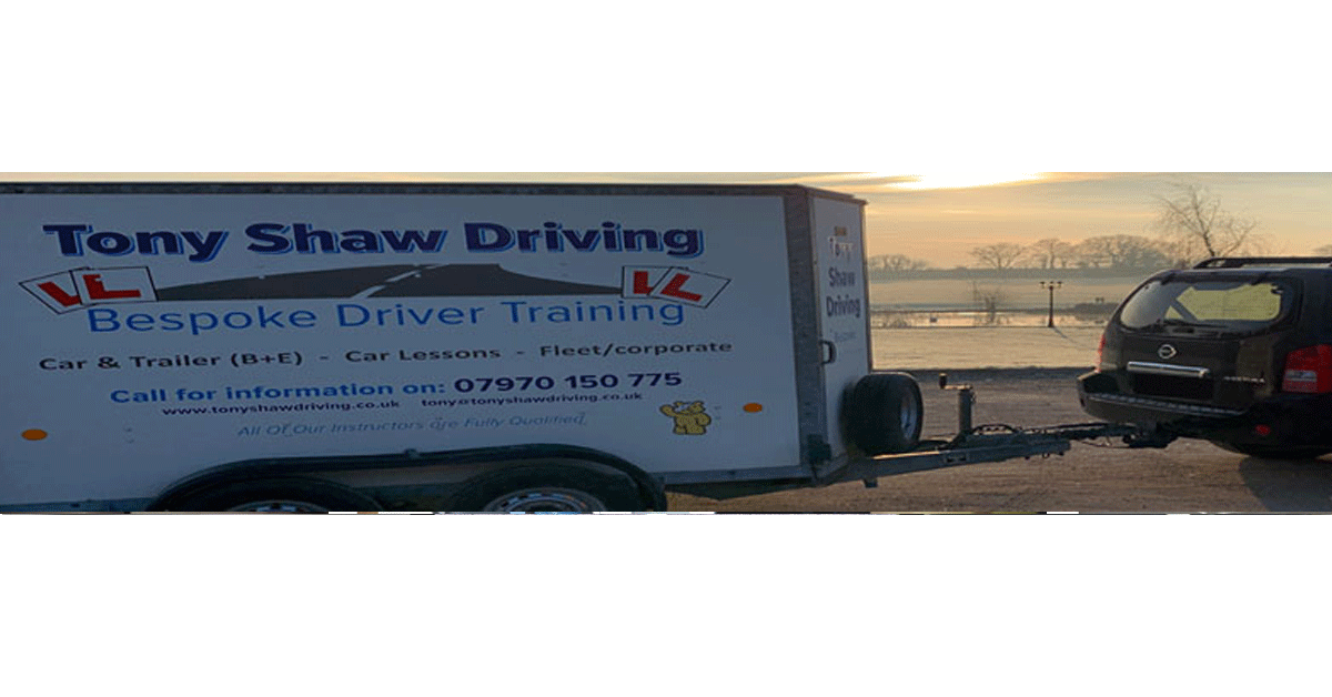 Trailer towing tution by Tony Shaw Driving